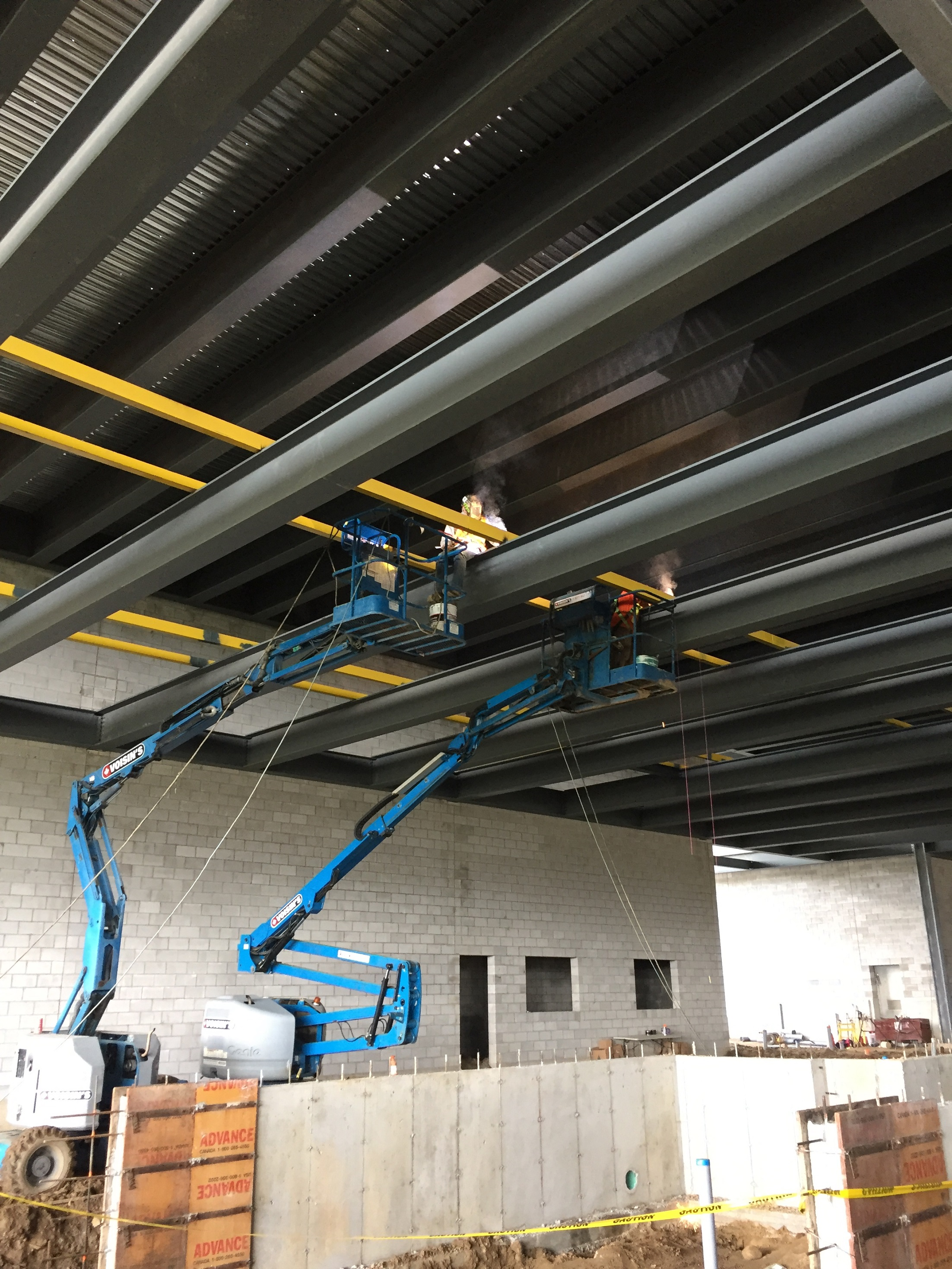 Cat Walk Installation - Dynamic Millwrights